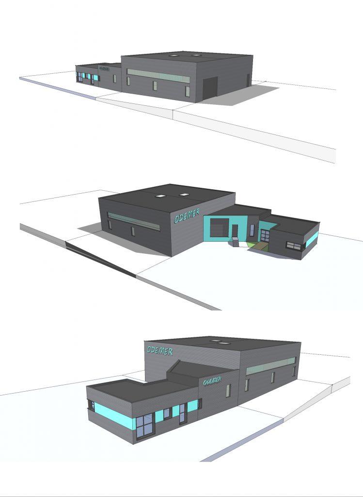 Vue 3D en phase permis de construire